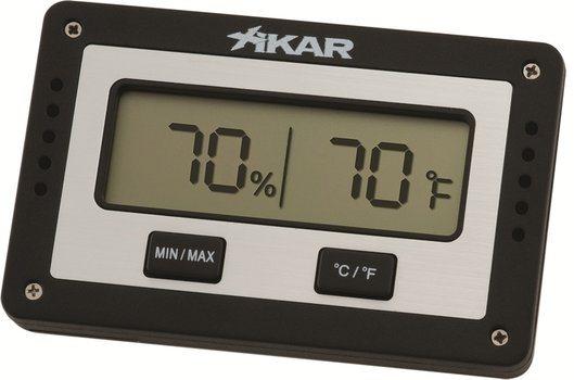 Xikar igrometro digitale rettangolare per humidor