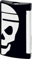 S.T. Dupont miniJet 10055 - noir avec tête de mort blanche