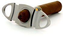 Adorini Zigarrencutter oval Edelstahl Foto 100