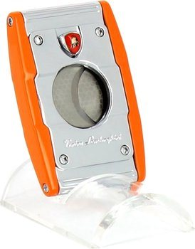 Coupe-cigares double lame Lamborghini 'Precisione' orange