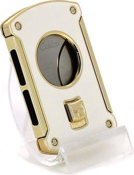 Colibri 'Slice' white / gold 24mm