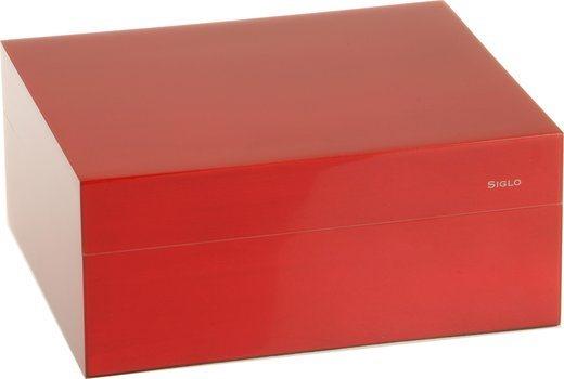 Siglo Humidor dimensione S 50 rosso