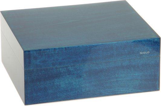Siglo Humidor dimensione S 50 blu