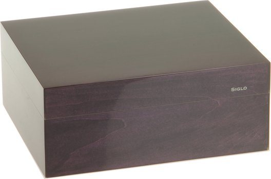 Siglo Humidor dimensione S 50 viola