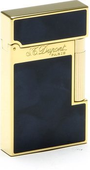 ST Dupont Atelier Accendino Blu Scuro