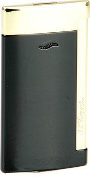 ST Dupont Slim 7 27708 - finiture nere e dorate