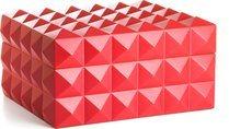 Colibri Quasar Humidor für 50-75 Zigarren rot limitierte Ausgabe