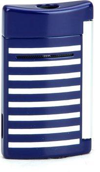 ST Dupont Minijet 10105 - blu Marino strisce bianche