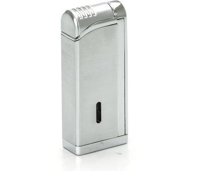 Tycoon Movie Jet III Briquet à cigare avec perforeuse multiple chrome
