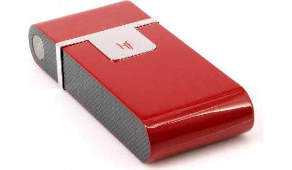 HF Barcelona R humidor tascabile rosso