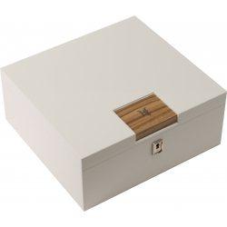 HF Barcelona W Smart humidor da scrivania bianco