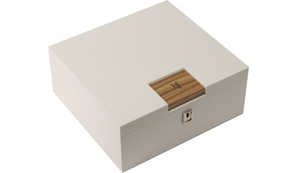 HF Barcelona W Smart Schreibtischhumidor weiß