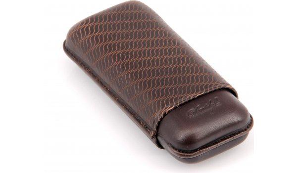 Davidoff Zigarrenetui Leder R-2 braun 3