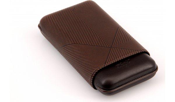 Davidoff Zigarrenetui XL-3 Leder braun Blatt