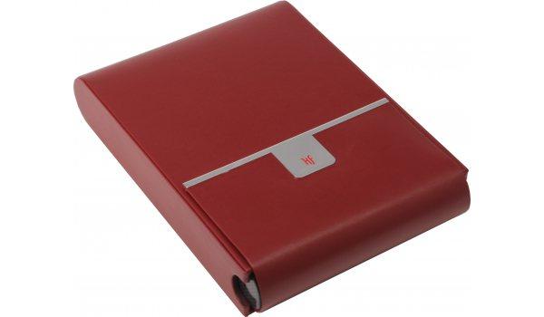HF R Travel 10 humidor da viaggio rosso