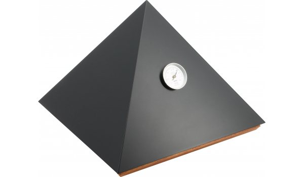 adorini Humidor Pyramid Deluxe M schwarz