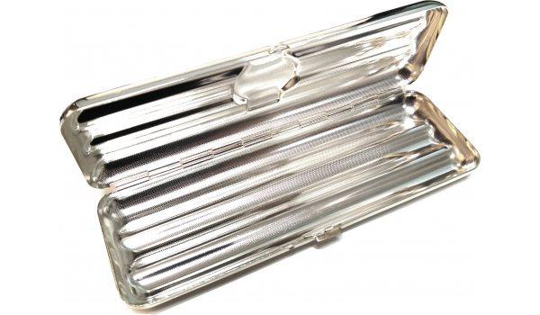 Zigarrenetui für 3 Coronas Sterling Silber