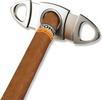 Adorini Zigarrencutter oval Edelstahl