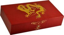 Elie Bleu Golden Dragon roter Humidor