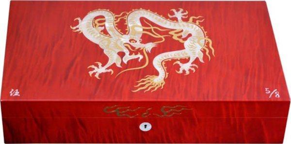 Cave Elie Bleu Nacre Dragon Edition limitée Rouge