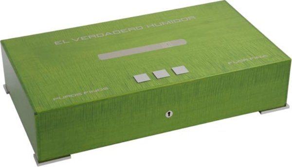 Humidor Elie Bleu Nuova Medaglia per 110 Sigari Verde