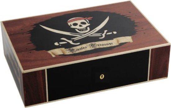 Elie Bleu Pirate's Treasure begrenzte Auflage 110-Zigarren-Humidor