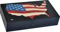 Cave Elie Bleu Stars & Stripes Map 110 cigares