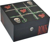 Cave Elie Bleu Tic-Tac-Toe Ligne Vanity 75 cigares Noire
