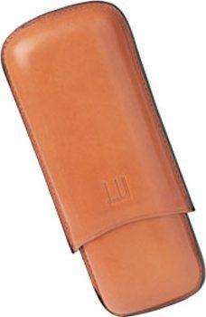Dunhill Zigarren-Etui Terracotta Corona 2er