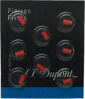 S.T.Dupont Feuersteine - 8pc rot
