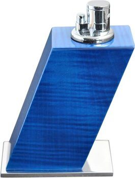Elie Bleu Briquet de table sycomore bleu teint