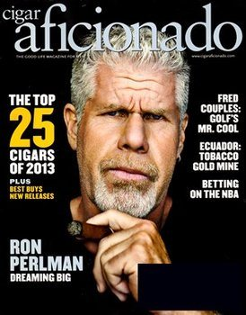 Cigar Aficionado magazine Jan/Feb 2014