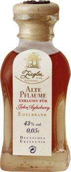 Ziegler Old Plum John Aylesbury Exclusive Brandy 4 x 50 ml