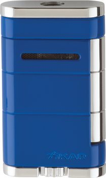 Briquet Xikar single Jet Allume bleu