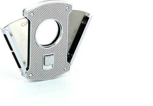 Colibri Slice tagliasigari argento / carbonio 24mm