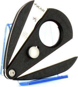 Xikar 2 Doppelklingencutter - Xi2 schwarz