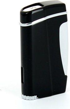 Xikar Laser Feuerzeug Executive Jet Flame Schwarz