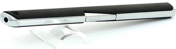 Accendino piezoelettrico Coney malaga nero / cromato