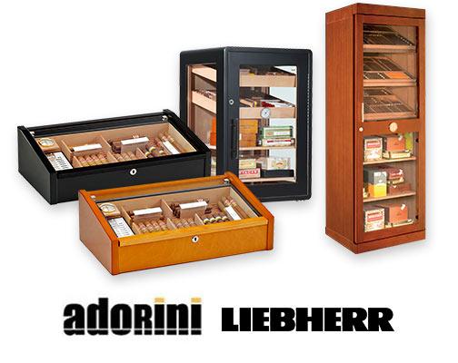Humidorschränke für Zigarren
