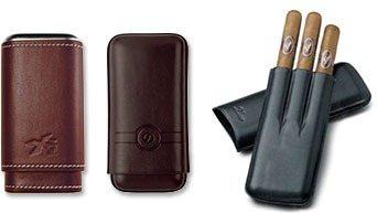 Étuis à Cigares En Cuir